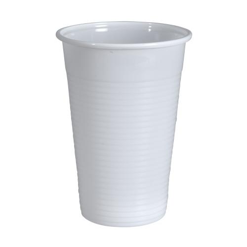 GASTRO-LINE juomapikari 20cl valkoinen 100kpl/pss
