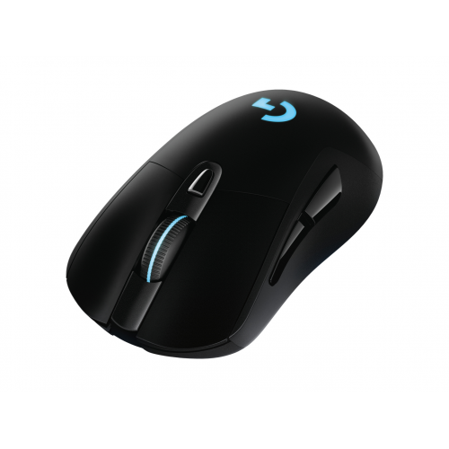 Logitech Wireless Gaming Mouse G703 LIGHTSPEED with HERO 16K Sensor - Mouse - optical - 6 buttons -