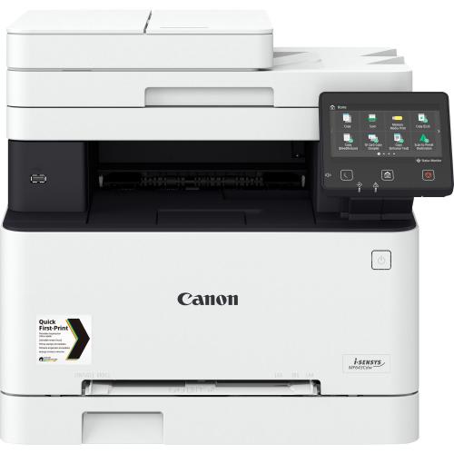 Canon i-SENSYS MF643Cdw - Monitoimitulostin - väri - laser - A4 (210 x 297 mm), jopa 21 sivua min (k