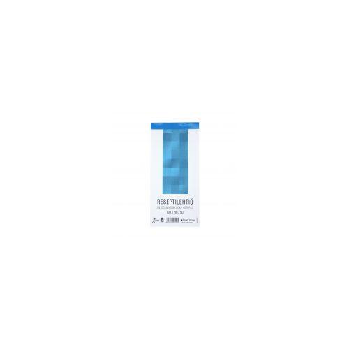 Reseptilehtiö 100x210/50 blanko