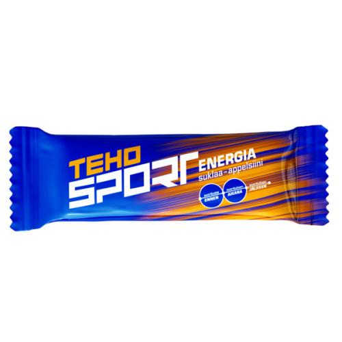 TEHO SPORT 50g energiapatukka suklaa-appelsiini