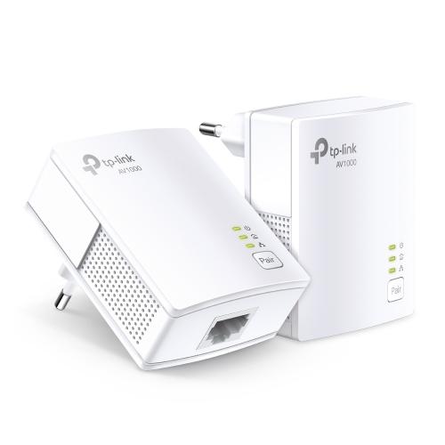 TP-LINK AV1000 Powerline Starter Kit 1 Gigabit Port 1000Mbps Powerline