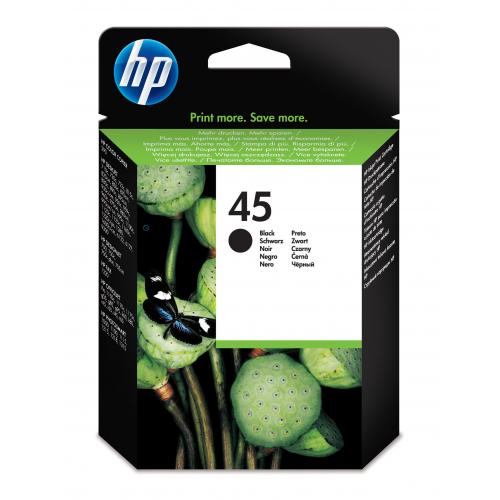 HP 51645A musta DeskJet 7 00 800 900 1100C 1220 160
