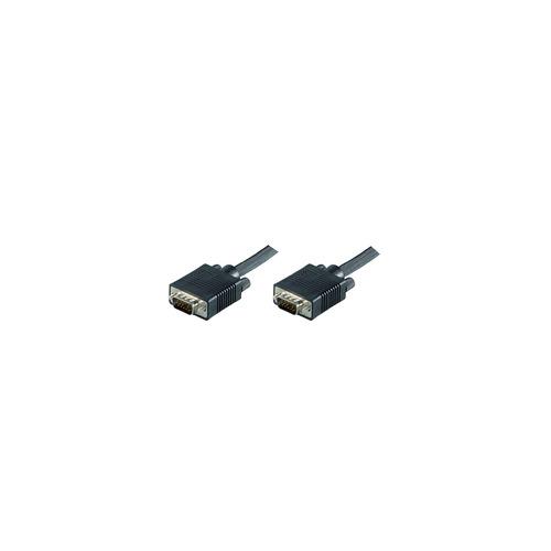 MicroConnect SVGA HD15 30m M-M Black