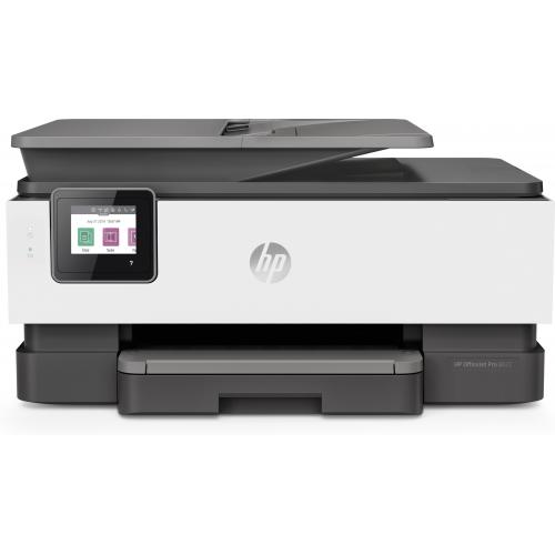 HP Officejet Pro 8022 All-in-One - väri - mustesuihku A4/Legal (media) - jopa 29 sivua/min (kopioin
