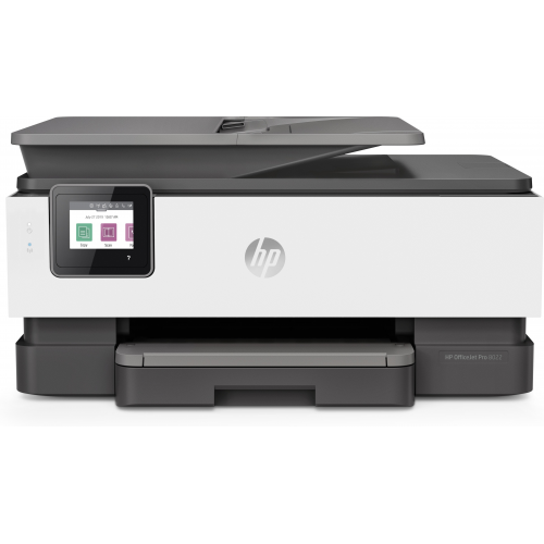 HP Officejet Pro 8022 All-in-One - väri - mustesuihku A4 Legal (media) - jopa 29 sivua min (kopioin