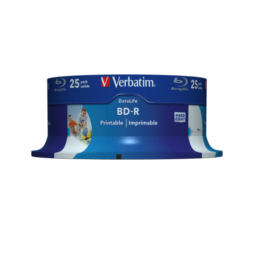 VERBATIM BD-R 25GB 6x Blue Ray levy (25kpl pkt)