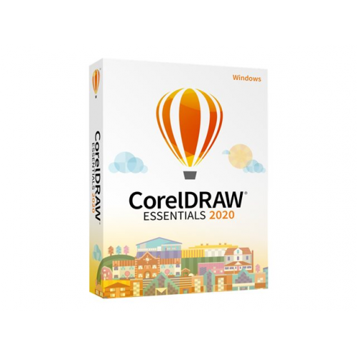 COREL Draw Essentials 2020 IE (EU)