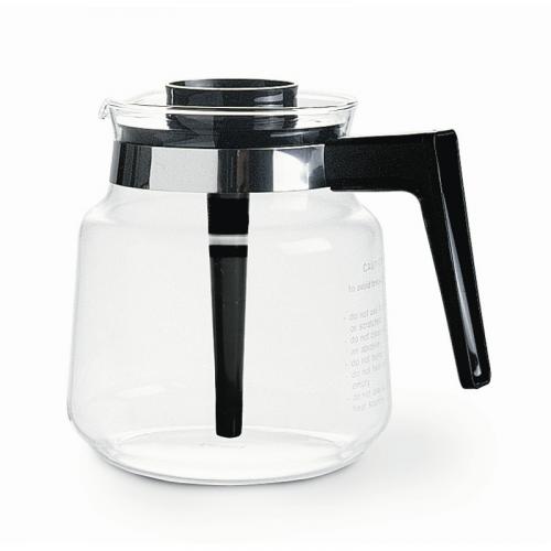 Moccamaster lasikannu musta kahva, 1,25 litraa, sekoituskansi. Sopii kaikkiin K-, KB- ja KBC -mallei