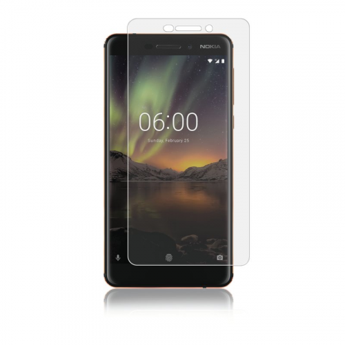 Panzer Nokia 6.1, Full-Fit Glass, Transparent