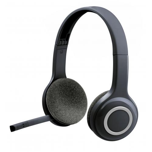 LOGITECH Wireless Headset H600 - Kuuloke - korvan päällä - langaton - 2.4 GHz