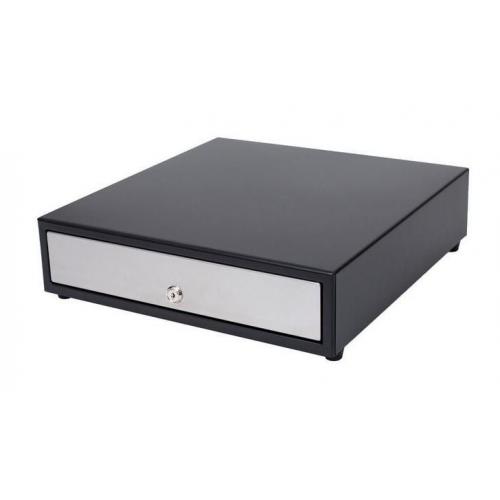 ICD kassalaatikko Epson/Star/Citizen/Bixolon kuittitulostimelle, sähköinen avaus, 4+8 lokeroa, musta