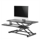 NEWSTAR Workstation - stand-sit workplace solution (height adjustment 13-50 cm)