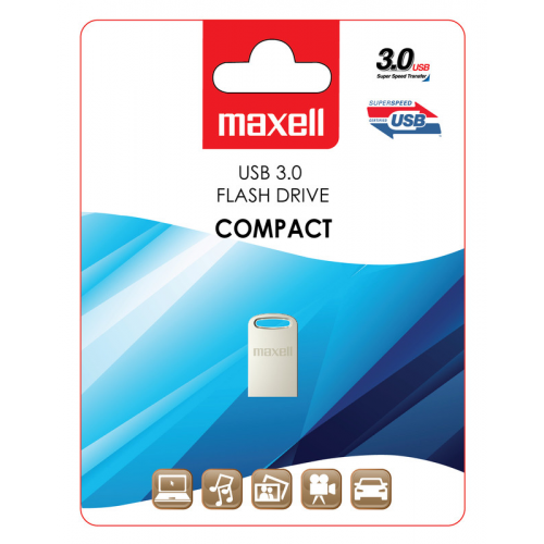 Maxell USB 3.0 muistitikku 64GB Compact