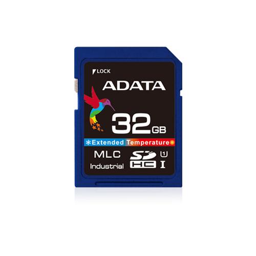 ADATA IDC3B MLC SD Card 4GB Wide Temp