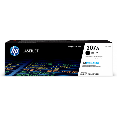 HP 207A Black LaserJet Toner Cartridge 1,35K