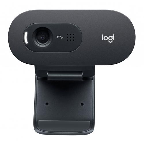 LOGITECH C505e HD Webcam musta