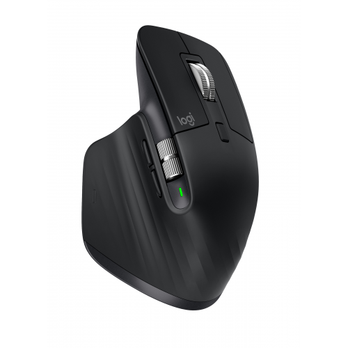 LOGITECH MX Master 3 Advanced Wireless Mouse - BLACK - 2.4GHZ BT