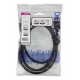 DisplayPort-kaapeli, 1,5 m, 8K, DP 1.4, DSC 1.2, musta