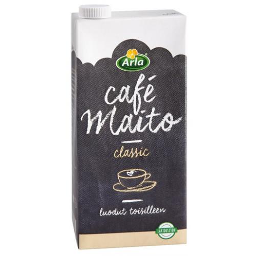 Arla 1L laktoositon Cafe UHT maito