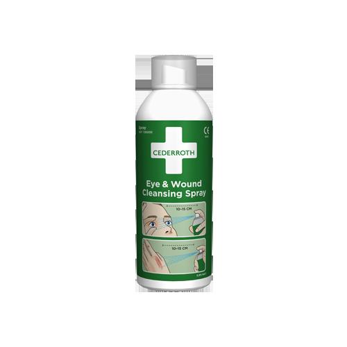 CEDERROTH huuhteluspray 150ml, silmän ja haavan puhdistukseen (12plo/pkt)