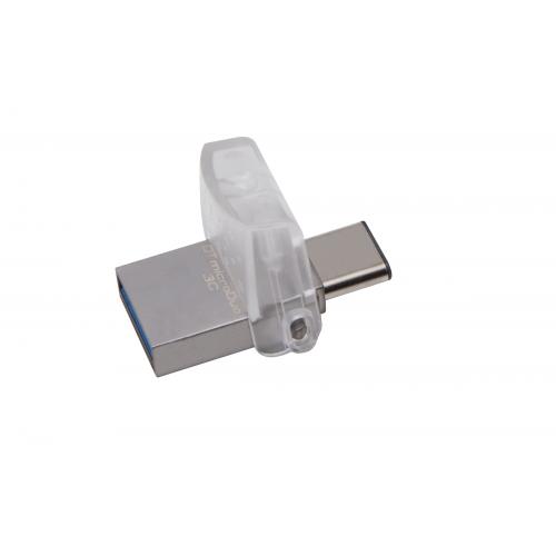 KINGSTON 128GB DT microDuo 3C USB3.0/3.1 + Type-C flash drive