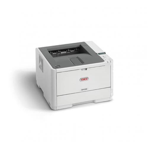 OKI B412dn - Tulostin - yksivärinen - Dupleksi - Valodiodi - A4 Legal - 1200 x 1200 pistettä tuuma -