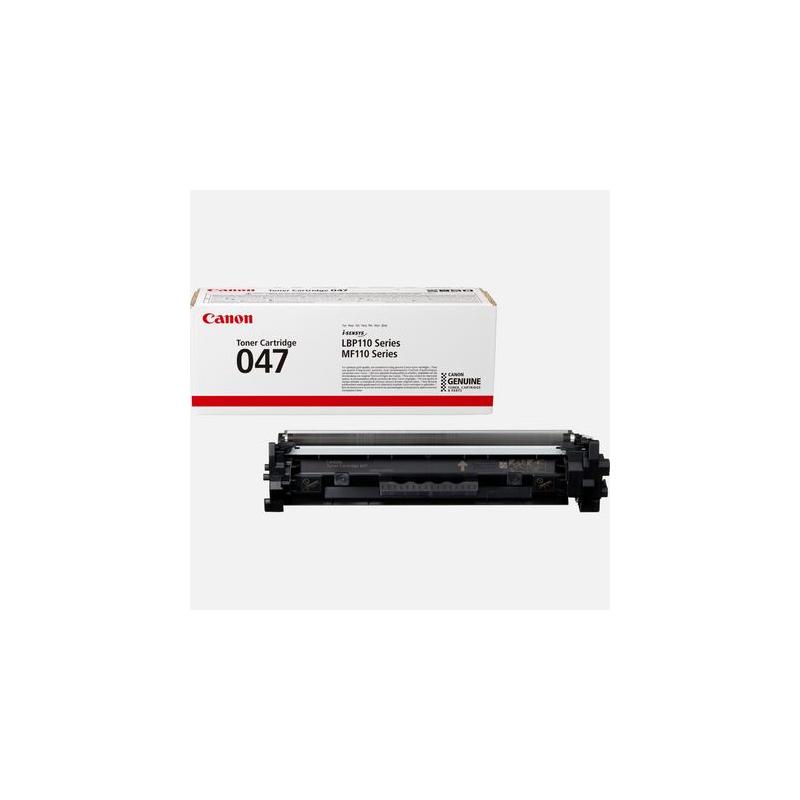 CANON CRG 047 - Musta - original - väriainekasetti malleihin Image CLASS MF113w i-SENSYS LBP112, LBP