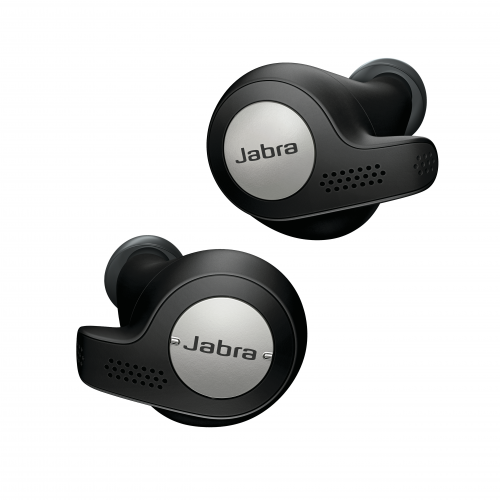JABRA Elite Active 65t, wireless in-ear headphones, BT 5.0, Titanium Black