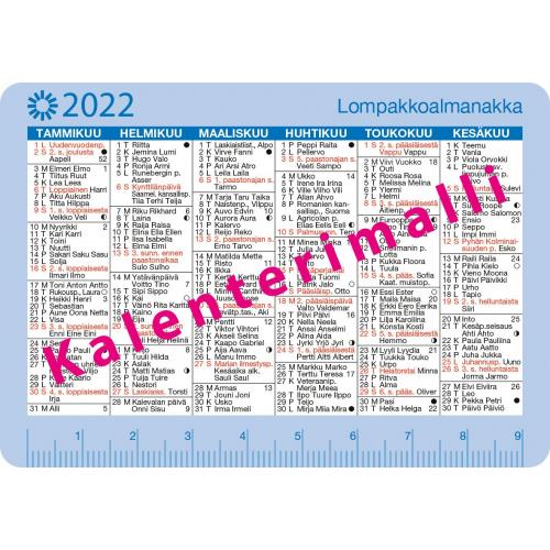 Lompakkoalmanakka 2022
