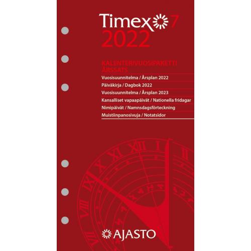 Timex 7 -vuosipaketti 2022