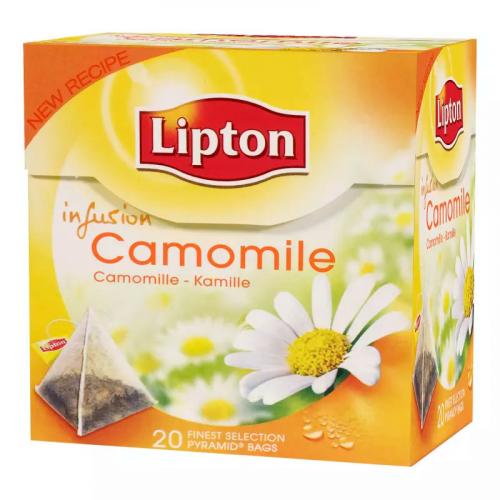 LIPTON Kamomilla pyram tee 20pss/pkt