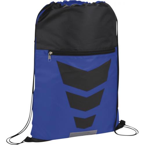 BULLET Courtside Sporttikassi, royal blue / black solid