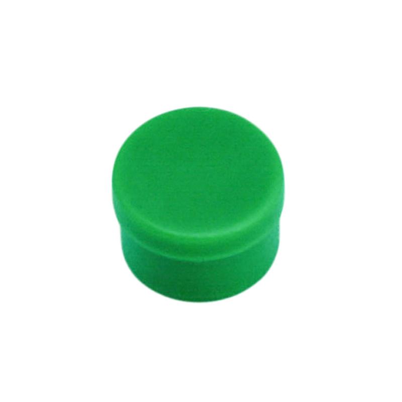 Magneettinappi 10mm vihreä 10kpl/pkt