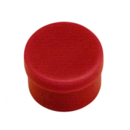 Magneettinappi 10mm punainen 10kpl/pkt