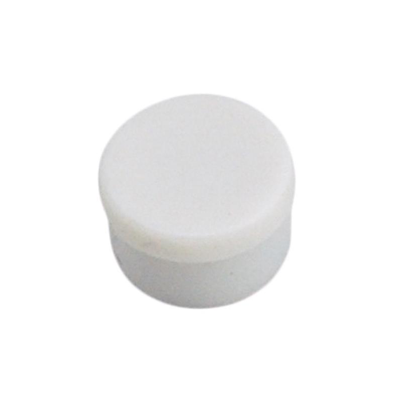 Magneettinappi 10mm valkoinen 10kpl/pkt
