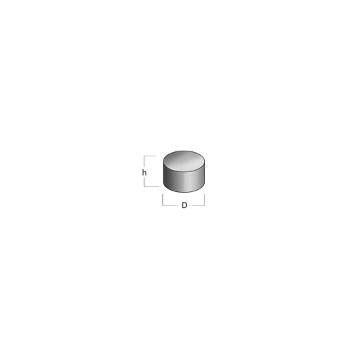 Supermagneettinappi 12x3mm