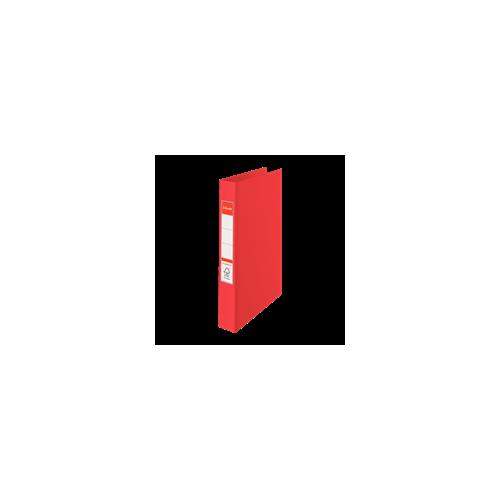 Esselte rengaskansio punainen A4 190arkkia PP selkä 42mm 2-renkainen halkaisija 25mm (10kpl ltk)
