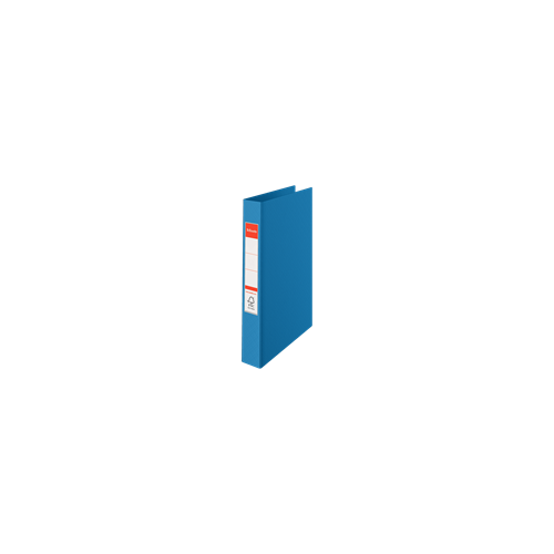 Esselte rengaskansio kirkkaan sininen A4 190arkkia PP selkä 42mm 2-renkainen 25mm (10kpl ltk)