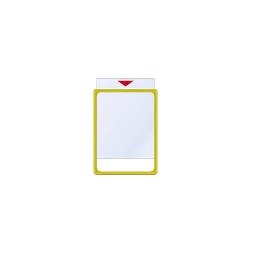 Hintahalsterin muovitasku A4 kehykseen