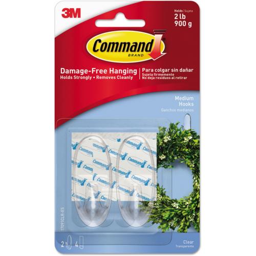 3M Command siirtokoukku kirkas