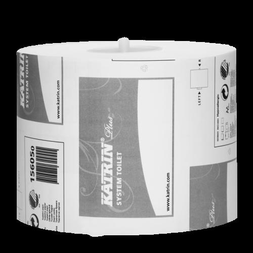 KATRIN Plus System Toilet 680 wc-paperi 2-krs valkoinen 36rll/laatikko