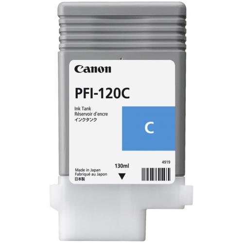 Canon PFI-120C Cyan ink IPF 500 600
