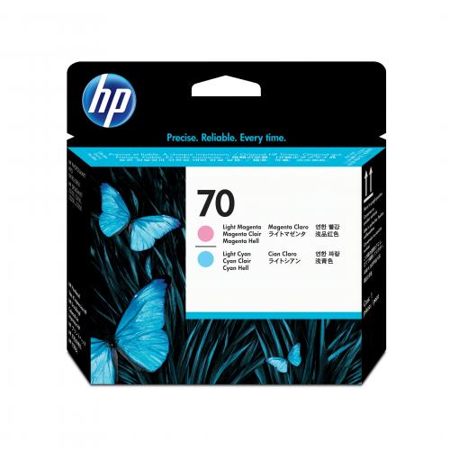HP C9405A no70 printhead DJ Z2100/PS B9180 light cyan+light magenta