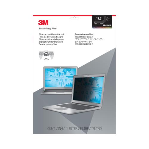 3M tietoturvasuoja PF17.3W, wide screen (16 9)