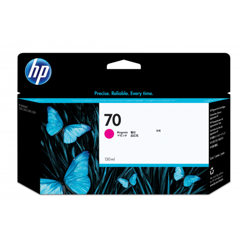 HP C9453A no 70 mustepatruuna magenta ink 130ml Vivera Designjet Z2100/3100