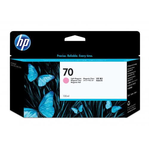 HP C9455A no 70 mustepatruuna light magenta ink 130ml Vivera Designjet Z2100/3100