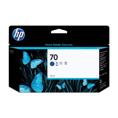 HP C9458A no 70 mustepatruuna blue ink 130ml Vivera Designjet Z2100/3100