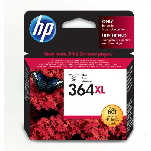 HP CB322EE photoblk 364XL Photosmart C5380/6380