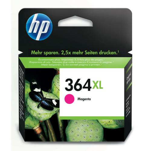 HP CB324EE magenta 364XL Photosmart C5380/6380